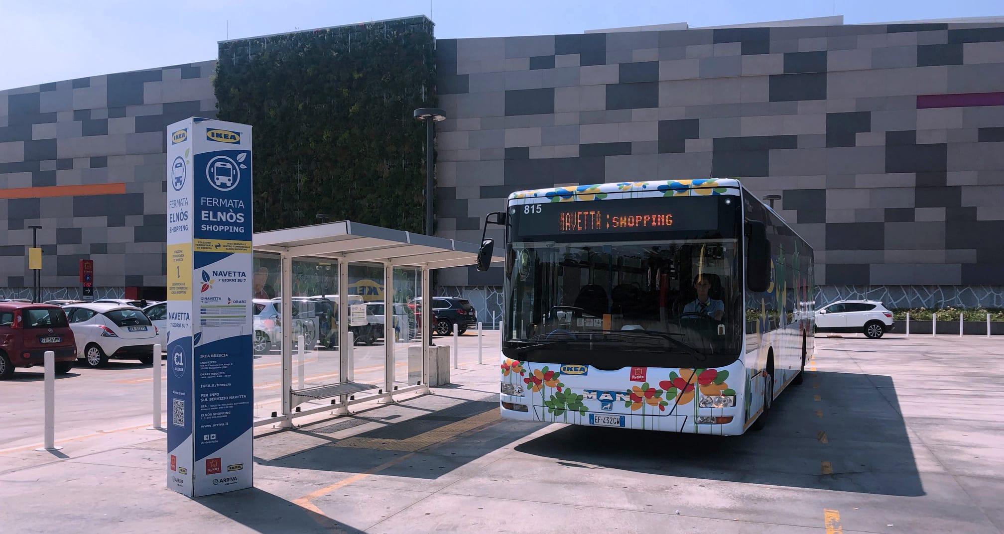 autobus centri commerciali