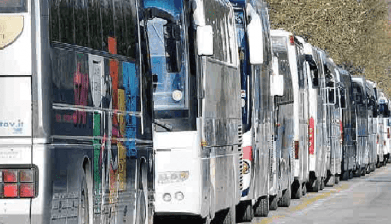 tempi guida riposo autista bus