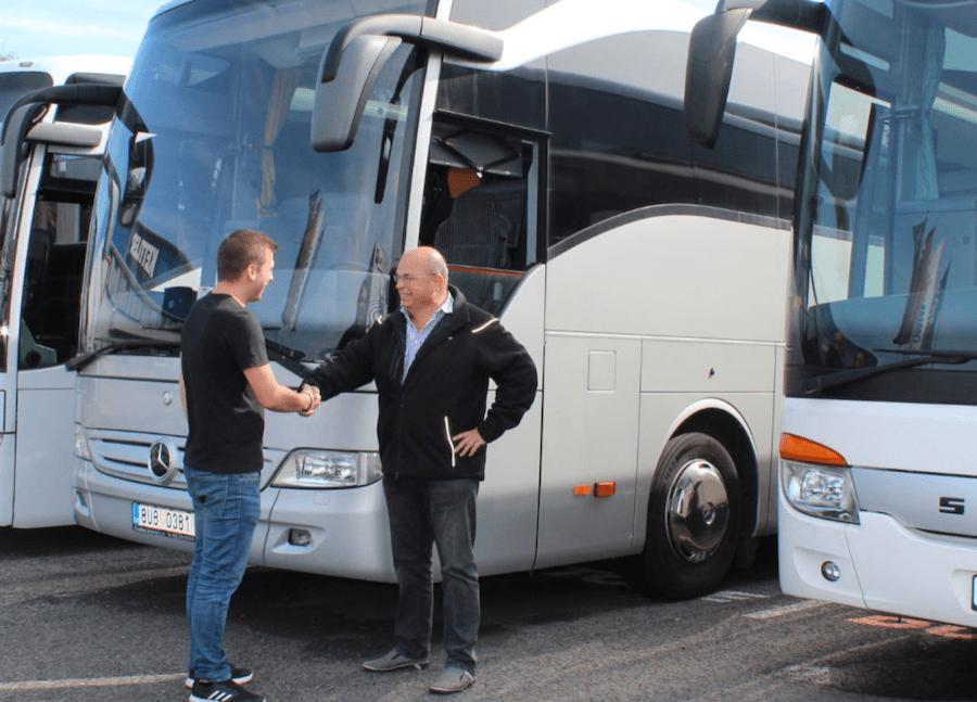 Autobus in leasing