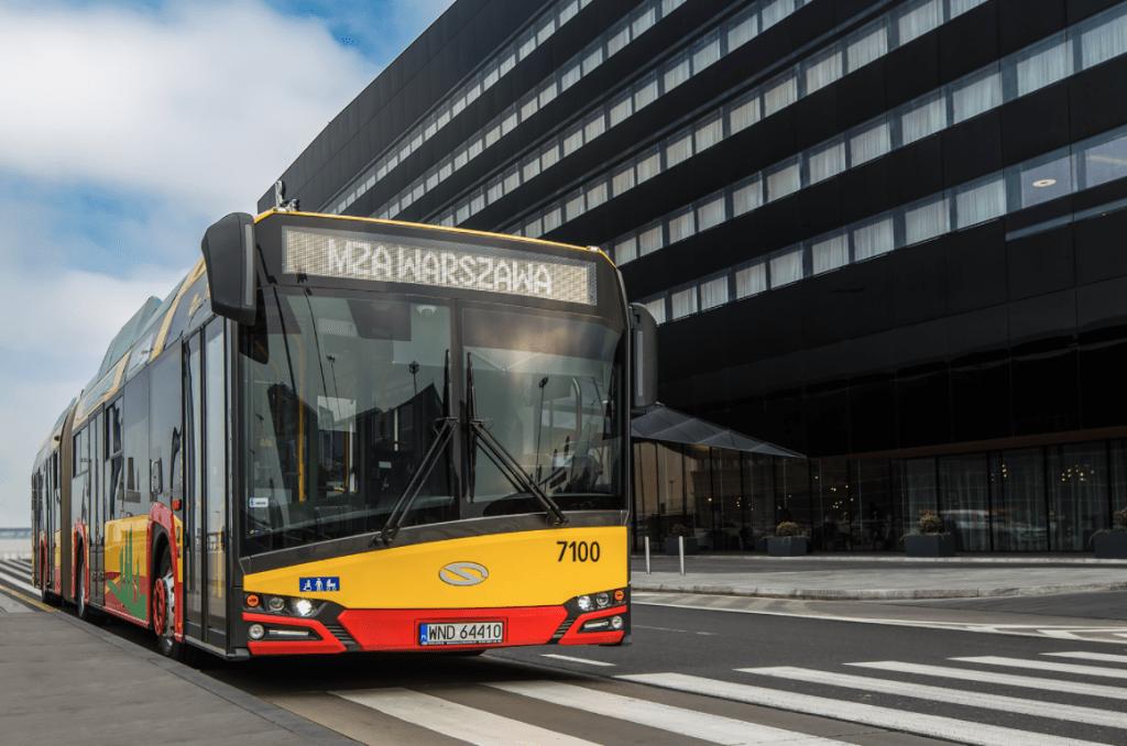 autobus elettrici varsavia