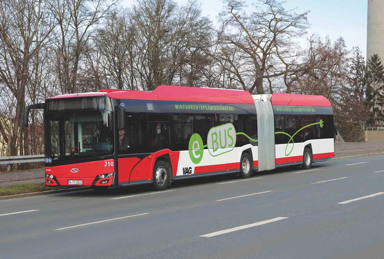 Bus elettrico a pompa di calore a CO2 Konvekta
