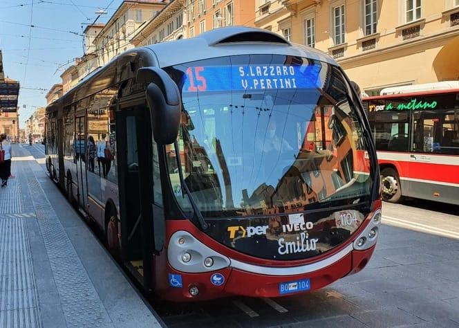 linea 15 filobus bologna