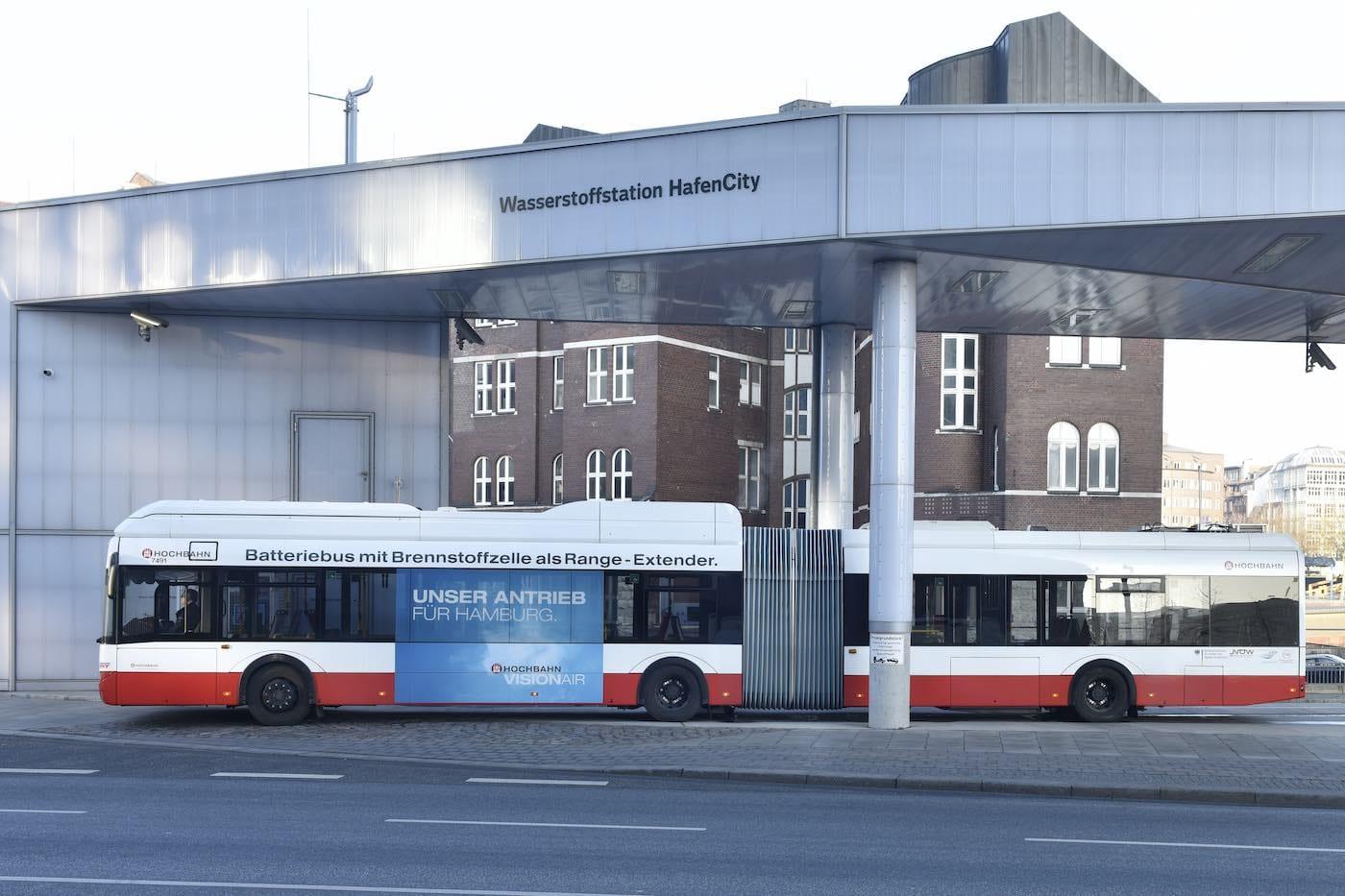 autobus idrogeno amburgo