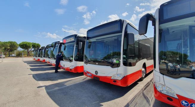 autobus ibridi amtab bari
