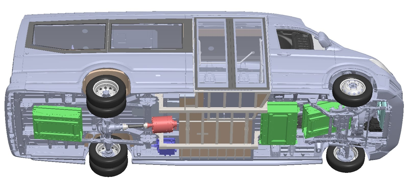 d'auria minibus elettrico
