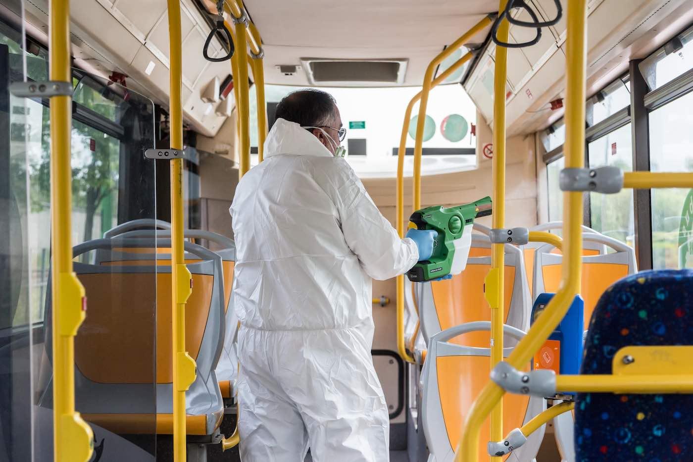 convegno covid19 autobus
