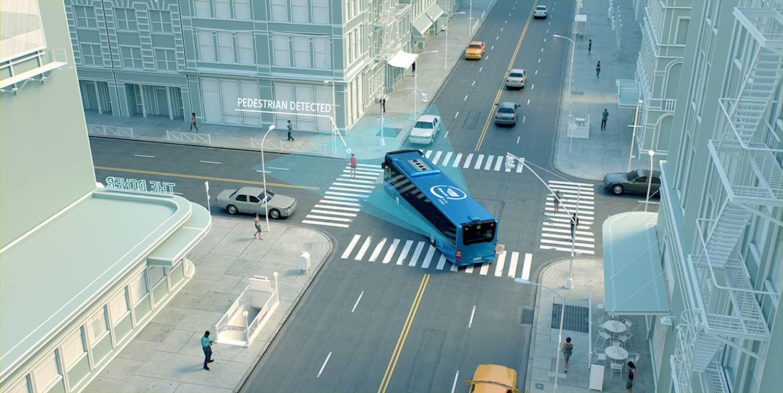 sistemi anticollisione autobus
