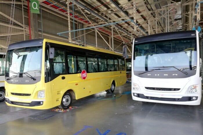 daimler buses india