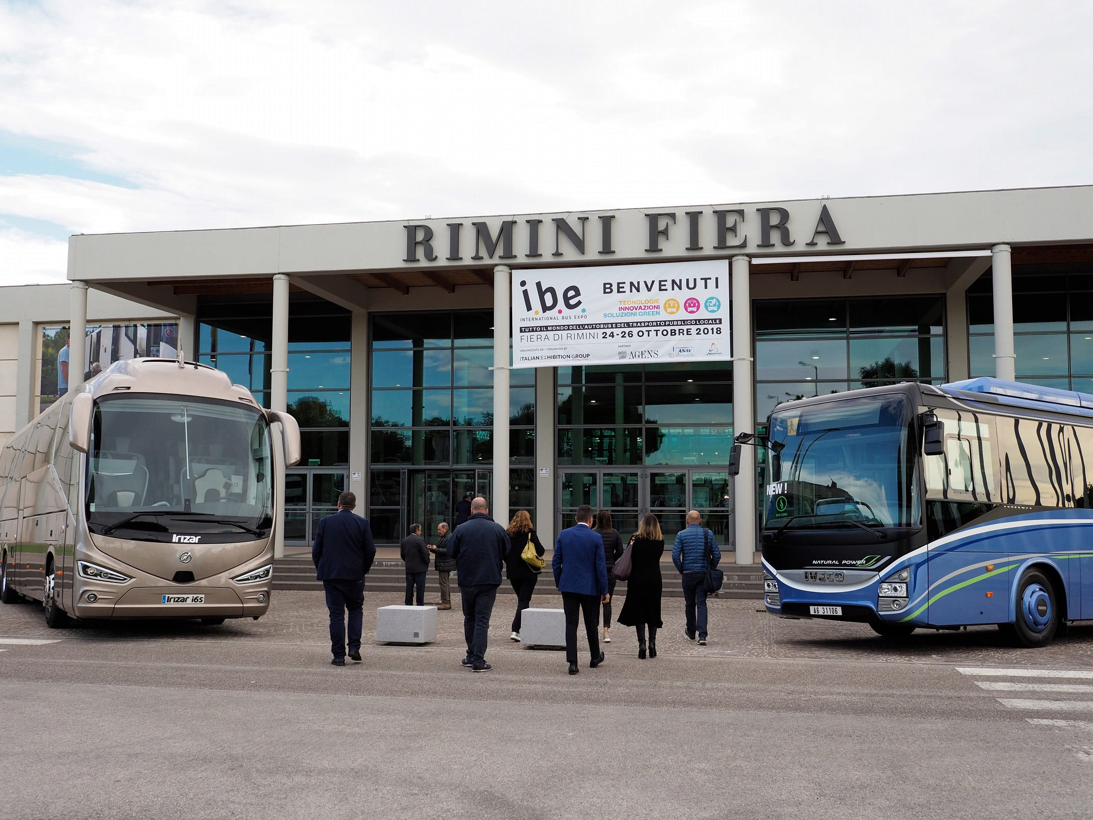 ibe 2020 autobus rimini fiera