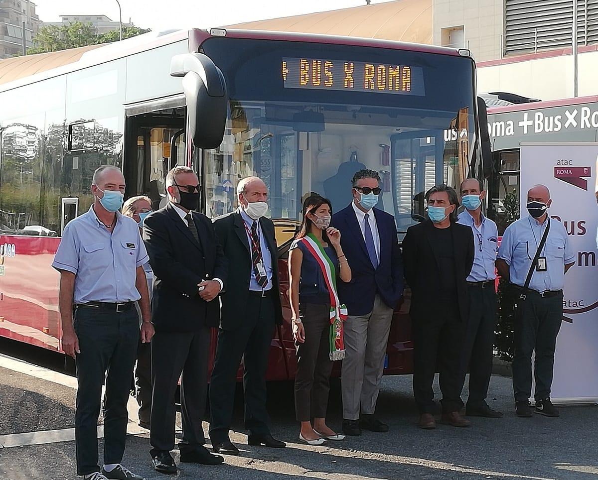 atac nuovi bus grottarossa