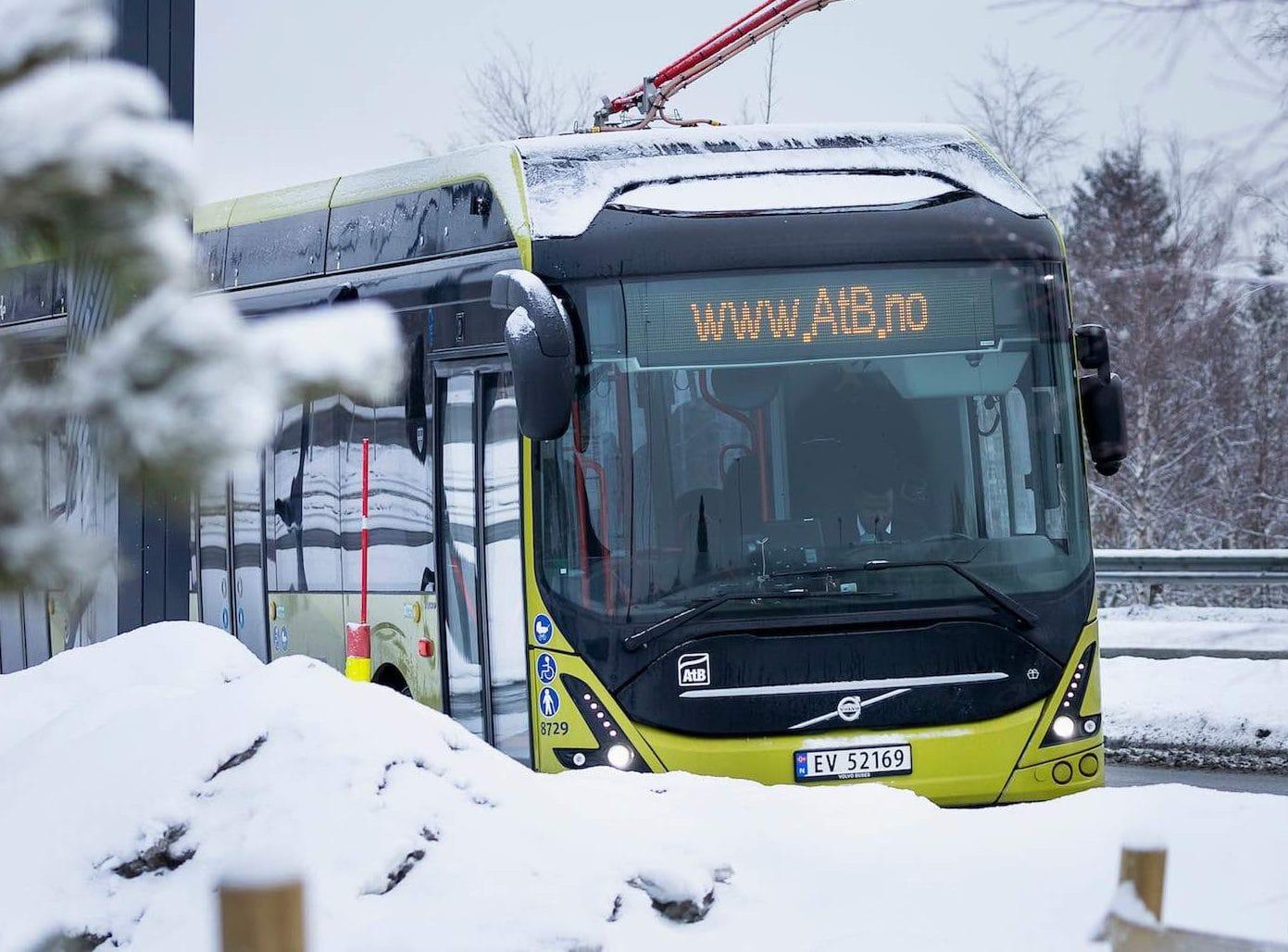 bus elettrici circolo polare artico