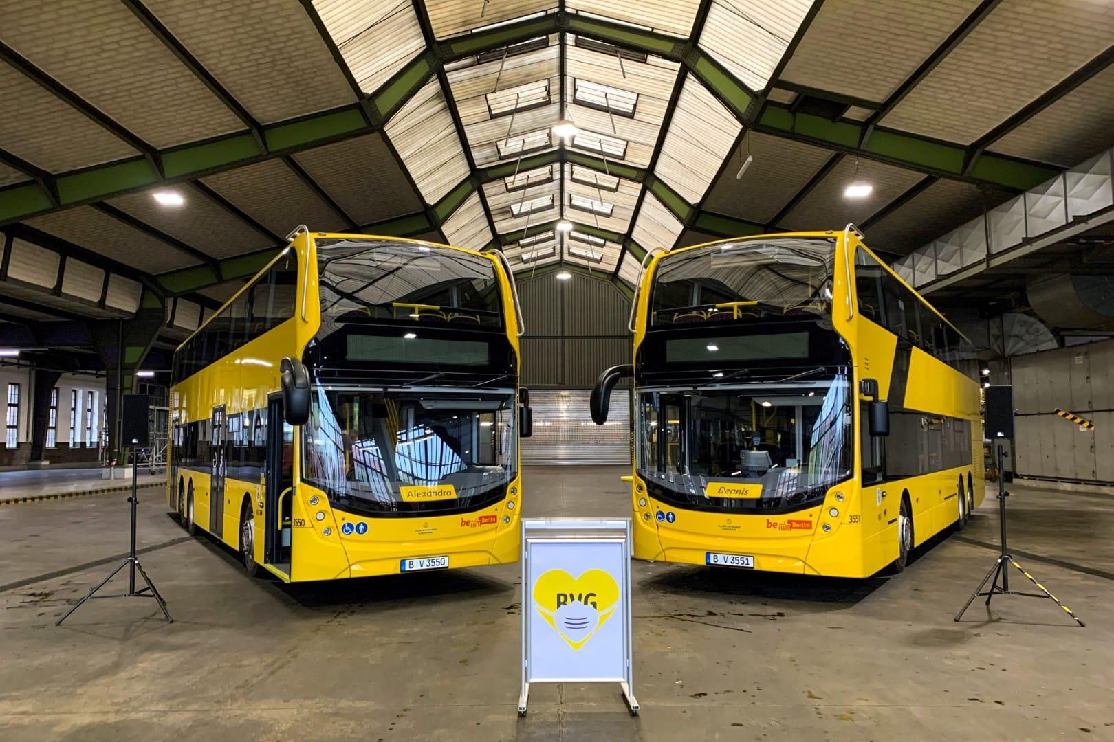 bus double decker berlino