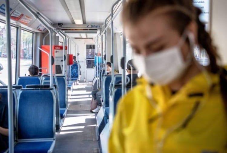 mascherine mezzi pubblici multe