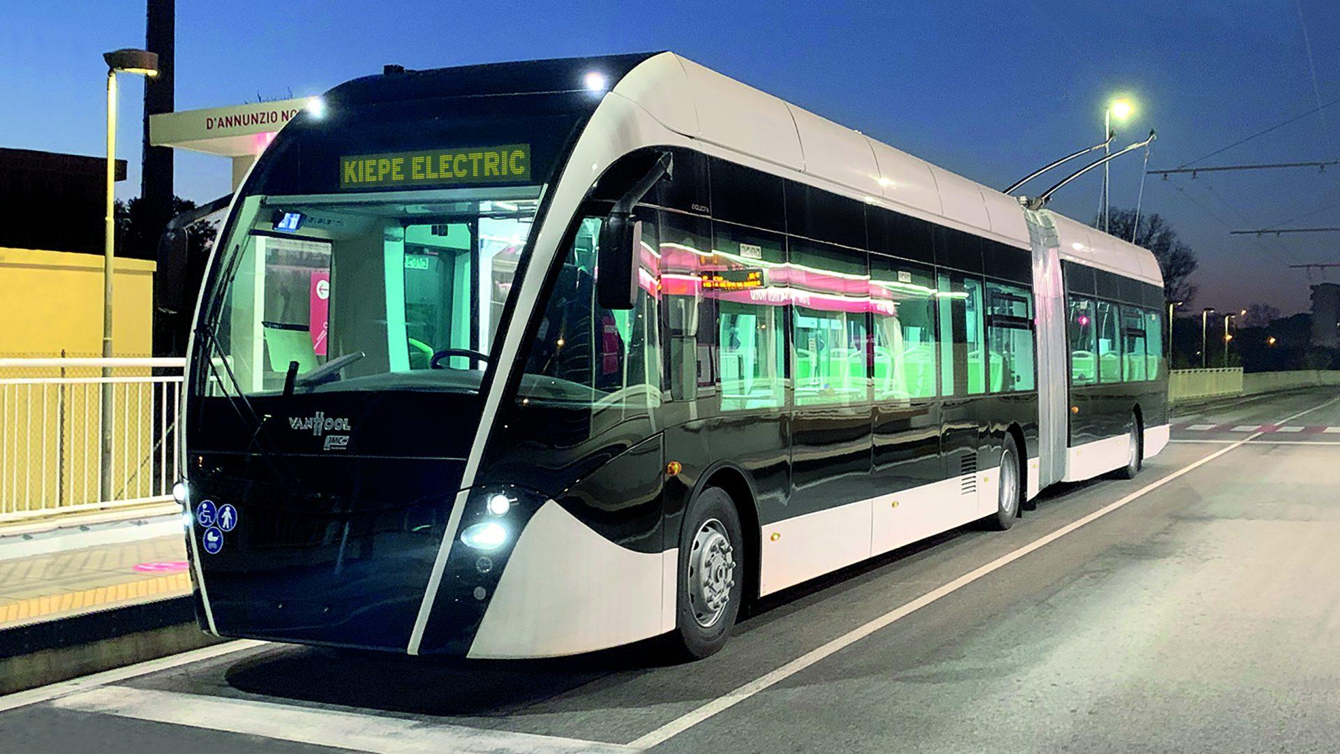 kiepe electric filobus