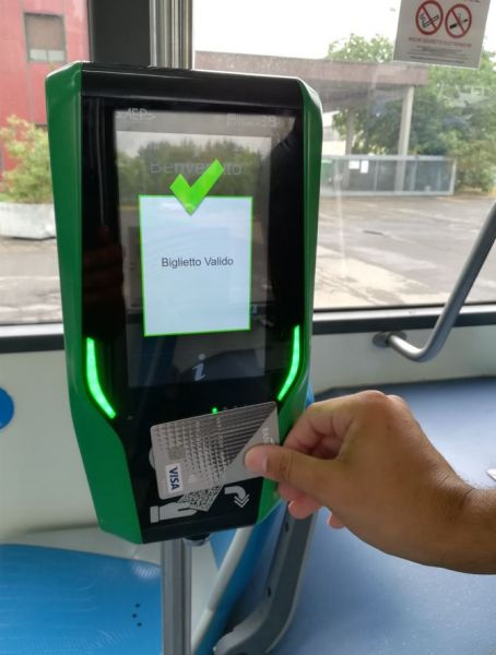 seta piacenza biglietto contactless bus